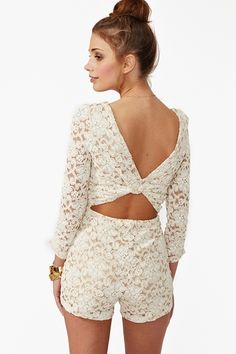 Lace Romper So Cute for Date Night or Going Out with the Girls! #Love