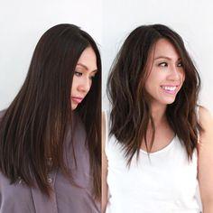 R E F R E S H . . . #softaline #haircut #academyramireztran #parallelundercut #anhcotran by anhcotran