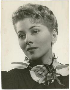 Joan Fontaine portrait, 1940's