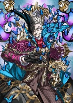 Legendary warriors of history, summoned to join you in battle. James Moriarty, Fate Anime Series, Fate Zero, Type Moon, Fate Stay Night, All Anime, Image Boards, Archer, Character Art