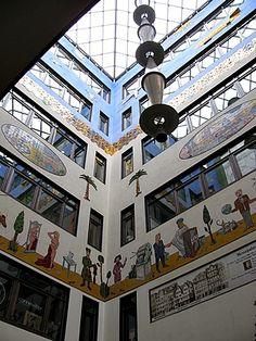 Teil der Passage des Specks Hof, Leipzig