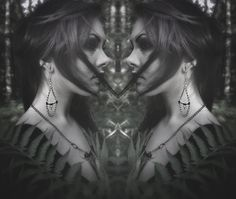 """• Nox Ithil Creations •   Handmade Bone Jewelry in """"Antiqued Copper""""."""