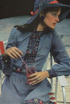 Image result for 1970s Prairie Fashion Victorian
