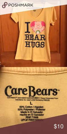 Juniors Blue Care Bears Grumpy Bear Cloud Hearts Rain Costume Tunic Tank Dress