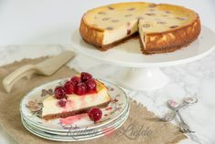 Cheesecake met kersen Cheesecake, Candy, Snacks, Baking, Desserts, Seeds, Tailgate Desserts, Appetizers, Deserts