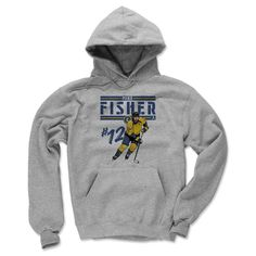 Mike Fisher Play B Nashville Officially Licensed NHLPA Men's Hoodie S-3XL
