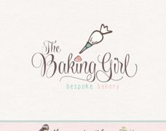 baking logo bakery logo premade logo cake logo whisk logo rolling pin logo premade logo design logos for bakers cake shop baking logo design
