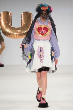 UCA Rochester Graduate Fashion Show 2015. Click through to see full gallery on vogue.co.uk.