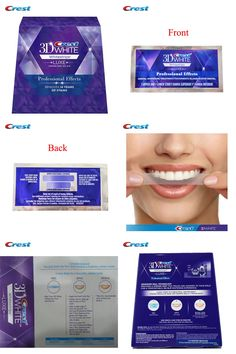 [Visit to Buy] Original Crest Whitestrips Oral Hygiene Crest 3d White Whitestrips Dental Teeth Whitening Product (1Box /40Strips 20 Pouches) #Advertisement