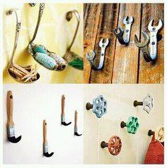 #Creatividad en casa. Reutilizar en lugar de tirar.    #hogar #manualidades #ideas #reciclaje
