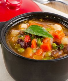 I made this amazingly tasting soup called Ayurvedic Minestrone, the steaming fragrance of this tempting soup is a prelude to the goodness to come!