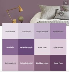 Interior Wall   Greyish Kind Of   Paint Colours. Purple Paint ColorsBedroom  ...