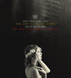 Taylor Swift--safe & sound I love the Hunger Games soundtrack<3