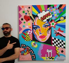 My new artwork '' The Aphrodite of Our Time'' ... #teodosioart #teodosio #popart #pop #art #artwork #bellucci