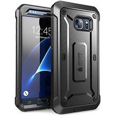 Carcasa para Samsung Galaxy S7 2016, Funda completa resistente SUPCASE con protector de pantalla - http://complementoideal.com/producto/tienda-socios/carcasa-para-samsung-galaxy-s7-2016-funda-completa-resistente-supcase-con-protector-de-pantalla-integrado-serie-unicorn-beetle-pro-negro/