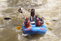 Things to Do in Colorado in Summer: white-water rafting, kayaking, ziplining and other river and mountain fun in the Roaring Fork Valley Near Aspen and Glenwood Springs.