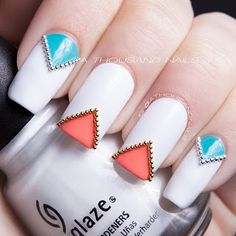 nails micro beads and tape