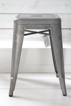 tolix stool---I heart my new French bar stools!