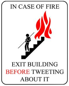 Just in case. Social Media Humor, Social Media Marketing, Digital Marketing, Marketing Ideas, Content Marketing, The Office, Fire Prevention Week, Funny Signs, Just For Laughs