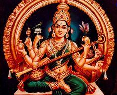 Saraswathi-Goddess of Learning