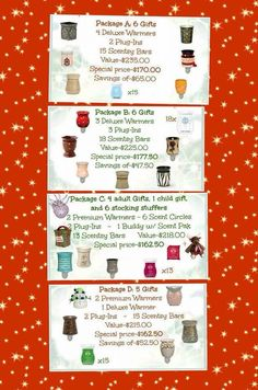What better way to shop for Christmas, ask me how to build a bundle! http://shellywhitney.scentsy.us