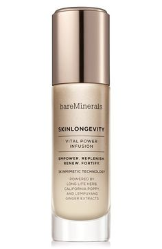 bareMinerals® 'SkinLongevity' Vital Power Infusion available at #Nordstrom