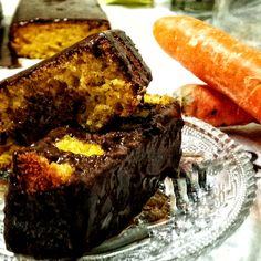 carrot cake with chocolate Carrot Cake, Carrots, French Toast, Deserts, Sweets, Chocolate, Breakfast, Recipes, Food