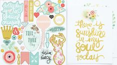 New Collection Reveal | Just Sayin' allscrapbooksteals.com will have and star shipping July 20