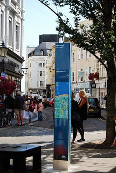 Mini Totem by Wayfinding UK, via Flickr