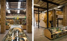 En la ciudad de Sevilla (México) se ha realizado una rehabilitación de un antiguo almacén de material agrícola de 400 m2 en una tienda de cómics, de carácter moderno y juvenil, acorde al producto que se pretende vender. #cómic #design #interior #interiorismo #reforma #tienda #arquitectura #rehabilitacion