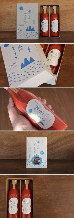 トマト農家の商品ブランディング・パッケージデザイン - ALNICO DESIGN アルニコデザイン