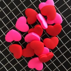 10pcs a lot Tennis racket heart-shaped silicone shock absorber  red heart shock absorber #Affiliate