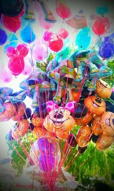 Balloons #Disneyland