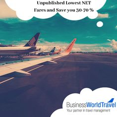 Are you serving Business and First class clients but not getting enough commissions? If yes, then #BusinessWorldTravel is the best fit for your company as we deal with the unpublished lowest NET fares and 𝐬𝐚𝐯𝐞 𝐲𝐨𝐮 𝟑𝟎-𝟕𝟎 %.  #CheapBusinessClassFlights #CheapFirstClassTickets #BusinessClassTickets #FlyBusinessClass #DiscountOnBusinessClassTickets #SaveOnTravel Cheap First Class Tickets, Business Class Tickets, First Class Flights, Top Destinations, Travel Agency, World Traveler, Business Travel, Save Yourself, Airplane View