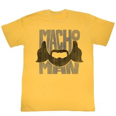 Macho Man: Beard Words T-Shirt