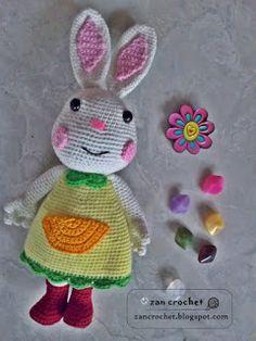 Mimi Rabbit ~ Zan Crochet