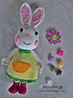 Mimi Rabbit ~ Zan Crochet