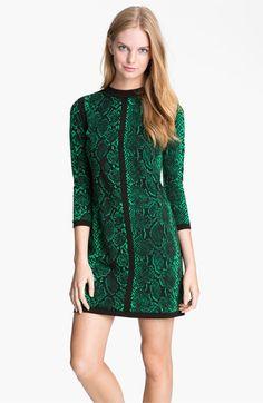 Juicy Couture 'Python' Print Dress