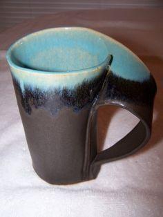 Panama Red and Tea Dust Slab-built Mug