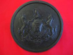 """Cast Bronze  """"Virtue, Liberty, and Independence"""", 8"""", Commemorative Plaque, www.springgallerybronze, www.modernartfoundry"""