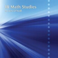 IB Math Studies (Standard Level) is designed specifically for out-of-field instructors or teachers new to the IB curriculum. ISBN: HMIBMSTM