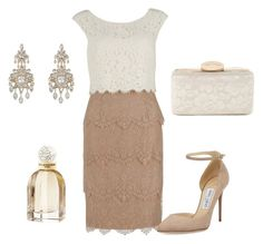 Sin título #323 by mar058mar22 on Polyvore featuring polyvore, fashion, style, Gina Bacconi, Jimmy Choo, Jessica McClintock, New Look, Balenciaga and clothing