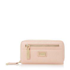 DUNE ACCESSORIES KIPBLOCK - Front Zip Detail Purse - pink | Dune Shoes Online
