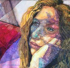 Sophie Huddlestone Composite Self Portrait