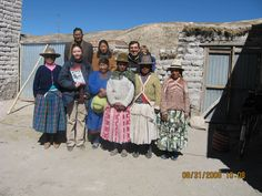 Me with the members of the Association of lama breeders of Challuma