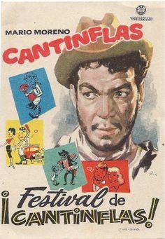 Cartel de cine de la película Cantiflas Mario por BlueGrizzlePapers, $10.00
