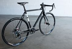 TwinSix limited edition cyclocross bike, made-in-USA Columbus steel frame with Paragon Rocker dropouts and ENVE fork