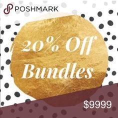 🔹 20% OFF BUNDLES 🔹 🔵BUNDLE & SAVE $$$                                                                                       🔹 20% off all bundles & Fast Shipping!                                                               🔹Accepting Reasonable offers! Buy Today‼️ Tops