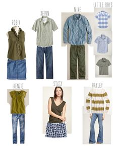 family photo color/outfit coordination tips