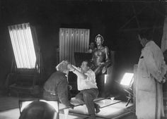 Metropolis - on the set